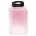 MENDA One Touch Liquid Pump Glass Bottle Pink Frosted 6 oz  35381