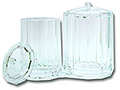 QOSMEDIX Attached Acrylic Containers  BB10016
