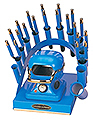 GOLDEN SUPREME Stand � Stove & Curling Irons Set in Blue  RD 708