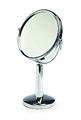 """SWISSCO 6"""" Diameter Two-Sided Chrome 5X Standing Mirror  SW206"""