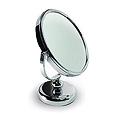 """SWISSCO 7"""" Diameter Two-Sided Chrome 7X Standing Mirror  SW225"""