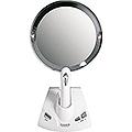 ZADRO LED Lighted Motorized Power Zoom Adjustable Magnification Vanity Mirror PZV01