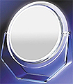 ZADRO Surround Light Lighted Fluorescent Single Sided Vanity Make-Up Mirror SS35 Chrome