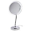 ZADRO 6x S-Neck Surround Light Vanity Mirror  SL36