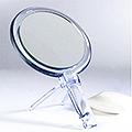 ZADRO Acrylic Dual Sided Hand Mirror  FH27