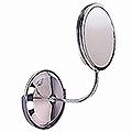 ZADRO Triple Vision Gooseneck, Vanity & Wall Mount Mirror  FG60