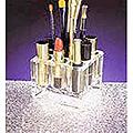 ZADRO Acrylic Cosmetic Organizer  ZOR9