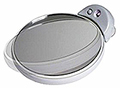 ZADRO LED Lighted Dual Sided, Close Up Spot Mirror  FC30L