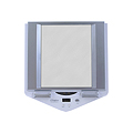ZADRO LED Lighted White Fogless Mirror Z700W White