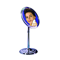 ZADRO 5X Telescoping Chrome Vanity Mirror Z9V5