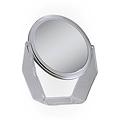 ZADRO 6-1 / 4 inch 5X / 1X Swivel Acrylic Vanity Mirror ZV06