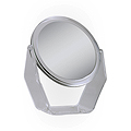 ZADRO 8-1 / 2 inch 5X / 1X Acrylic Vanity Mirror ZV08