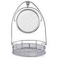 ZADRO Cosmetic Basket Mirror Organizer ZV35