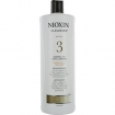 NIOXIN System 3 Cleanser Chemically Treated Fine Normal to Thin Looking Hair 33.8 oz