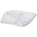 AQUIS ESSENTIALS Lisse Hair Turban White  BRI1330