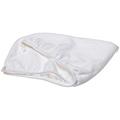 AQUIS ESSENTIALS Lisse Hair Turban White  BRI1330