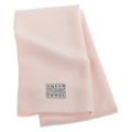 AQUIS ESSENTIALS Lisse Crepe Hair Towel PINK