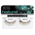 ARDELL Invisibands Lashes 100% Human Hair BROWN Item: Wispies