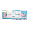 "COLORA Non Woven Epilation Strips In Reclosable Plastic Pack 10"" x 3-1 / 2""  3001"