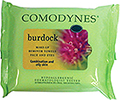 COMODYNES Make-Up Remover Towelettes for Combination and Oily skin with Burdock                 COMBURD20
