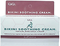 GIGI Bikini Soothing Cream Topical Analgesic Cream 3oz / 85g