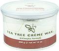 GIGI Tea Tree Creme Wax Antiseptic Formula 14oz / 396g
