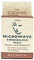 GIGI Microwave Tweezerless Wax Facial Hair Remover Kit