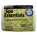 GRAHAM Spa Essentials Disposable Washcloth 50pk