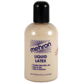 MEHRON Liquid Latex Light Flesh Color Special Effects Makeup  4.5oz