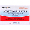 NU-PORE Acne Towelettes Moisturizing & Cleansing 30 Towelettes