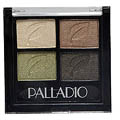 PALLADIO Eye Shadow Quads Color: Green