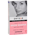 PARISSA Natural Hair Removal System Ready to Use Brow Shaper 32 Strips