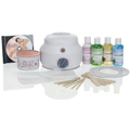 SATIN SMOOTH Single Warmer Wax Kit SSW12CKIT