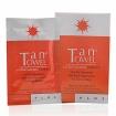TANTOWEL Plus Self-Tan Towelette Half Body Application for Medium to Dark Skin Tones (10 Towelettes)