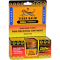 TIGER BALM Pain Relieving Non-Staining Ultra Strength Ointment 0.63oz