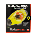 BABYLISS Pro Italia Brava Luxury Italian Ferrari Designed Hair Dryer Yellow