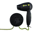 HAIR FORENSIC Compact Velocity 1200 Travel hair Dryer Dual Voltage