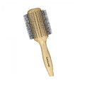 BABYLISS Wood 3-1/4 inch Round Blow Dry Brush BABWB50