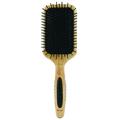BASS Nylon Bristles Black Rectangular Paddle Brush BSSLPBWB