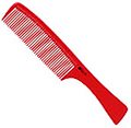 HAIRART ITECH Heat Resistant Handmade Ionic Carbon Large Comb-Out Comb  99032