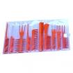 HAIRART Bone Colored Comb Set 10 pc 6132