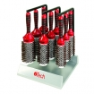 HAIRART iTech Magnetic Tourmaline Boar & Nylon Bristle Brush 9 Brush Set 84809