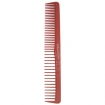 HAIRART Beuy Pro Professional Designer Comb 7 Inch Wide Tooth Comb Red J105