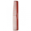 HAIRART Beauty Pro Professional Designer Comb 6 1 / 2 Inch Extra Wide Red J109