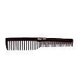 KREST COMBS Krest Series 7 inch Space Tooth Vent Comb Black  6000
