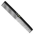 KREST COMBS Cleopatra Series 7 inch Flat Back Finger Waver Black   420Pack of 12