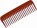 NUBONE II 320-Finish Pro Detangler Comb  NUB320
