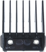 WAHL Professional Metal Clip Comb Attachment Black Size No.3 3/8 inch 3131
