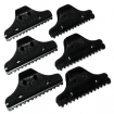 HAIRART Finger Razor 6 Pieces Set Black 7902