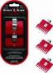SPEED-O-GUIDE Universal Clipper Comb Attachments Size 000 1 / 32 inch 3 Pack  3132